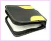 china wholesale product CD holder -portable black cd dvd holder case