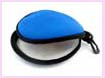 china producer CD holder - blue portable round cd holder