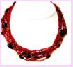 Online China exporter company for necklace, beaded necklace, pearl necklace and rhinestone necklace