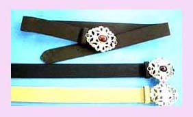 China supplier - Womens Fashion Belt - leather belt with fashion design buckle